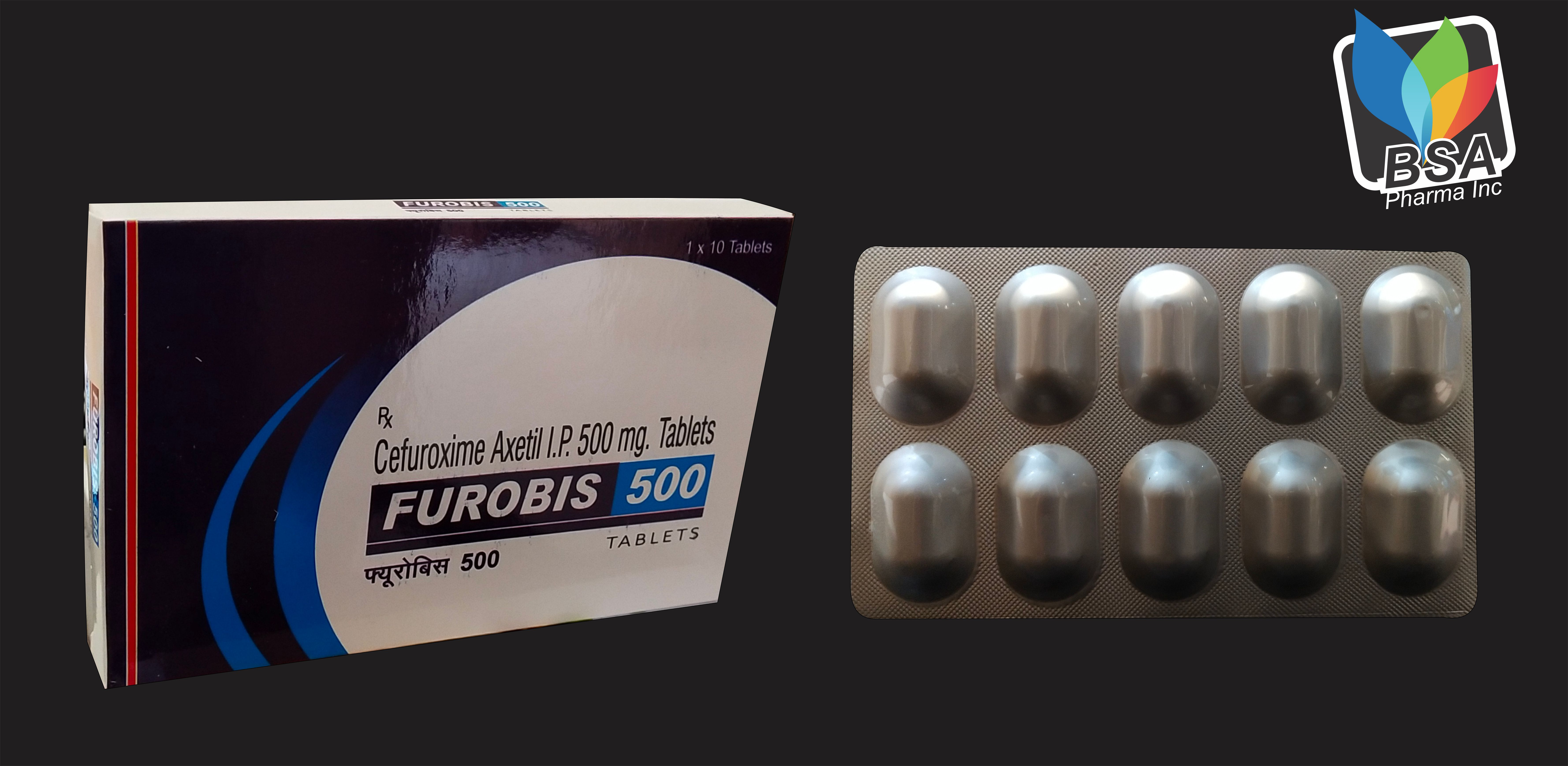 Cefuroxime Axetil 500 Tablets