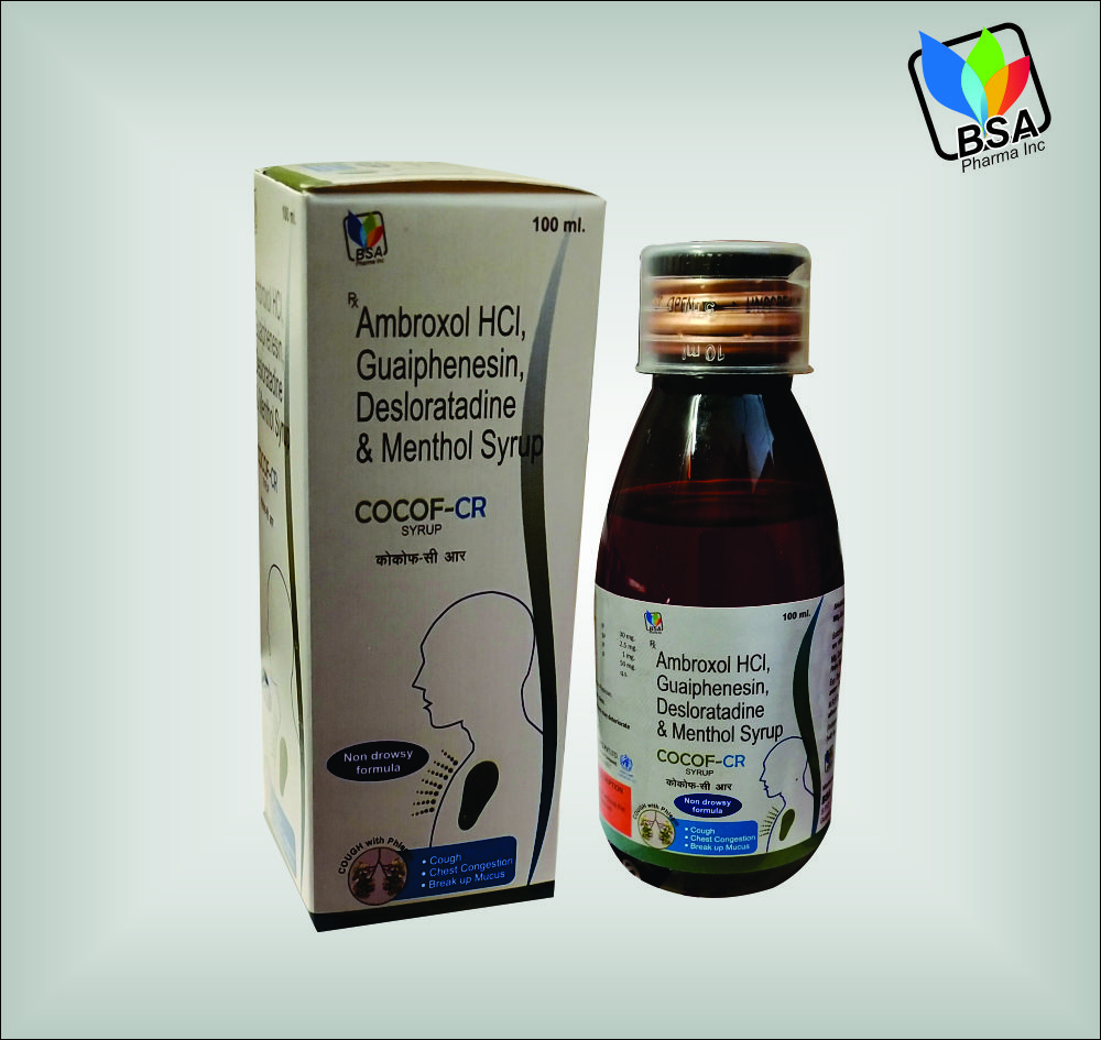 Ambroxol Hydrochloride Cough Syrup