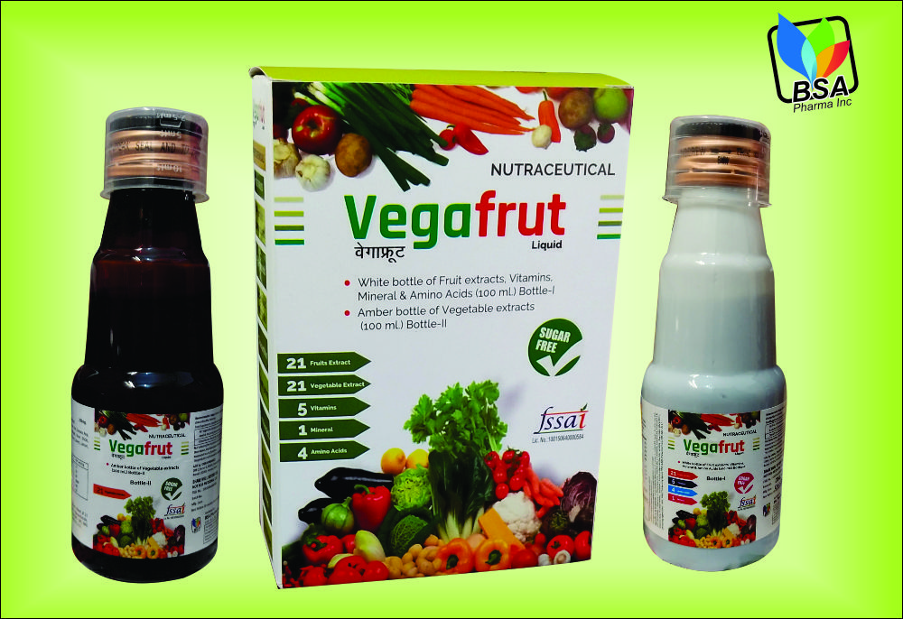 Fruits vegetables combo multivitamin syrup